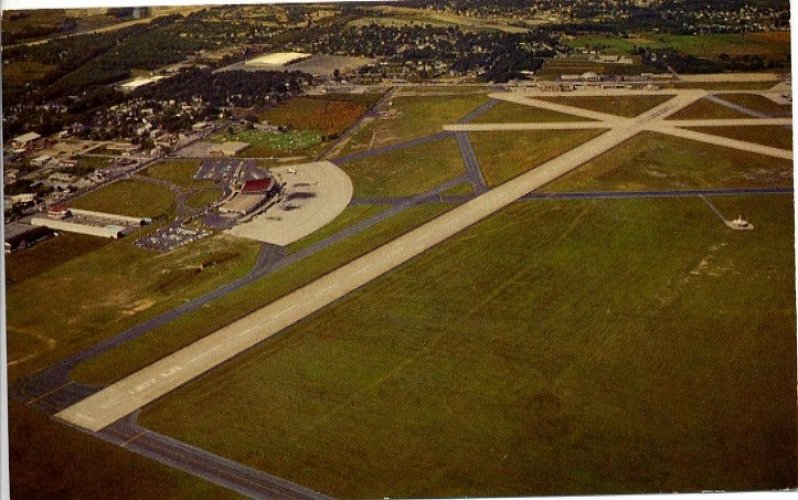 T.F. Green Airport 1957